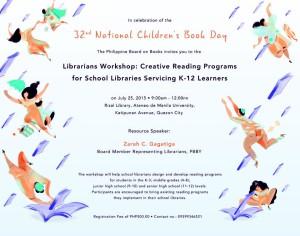 NCBD Librarians Workshop Poster