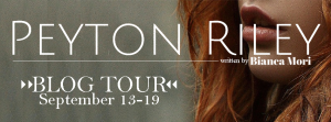 Peyton Riley Blog Tour Banner
