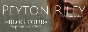 Peyton Riley Blog Tour Banner