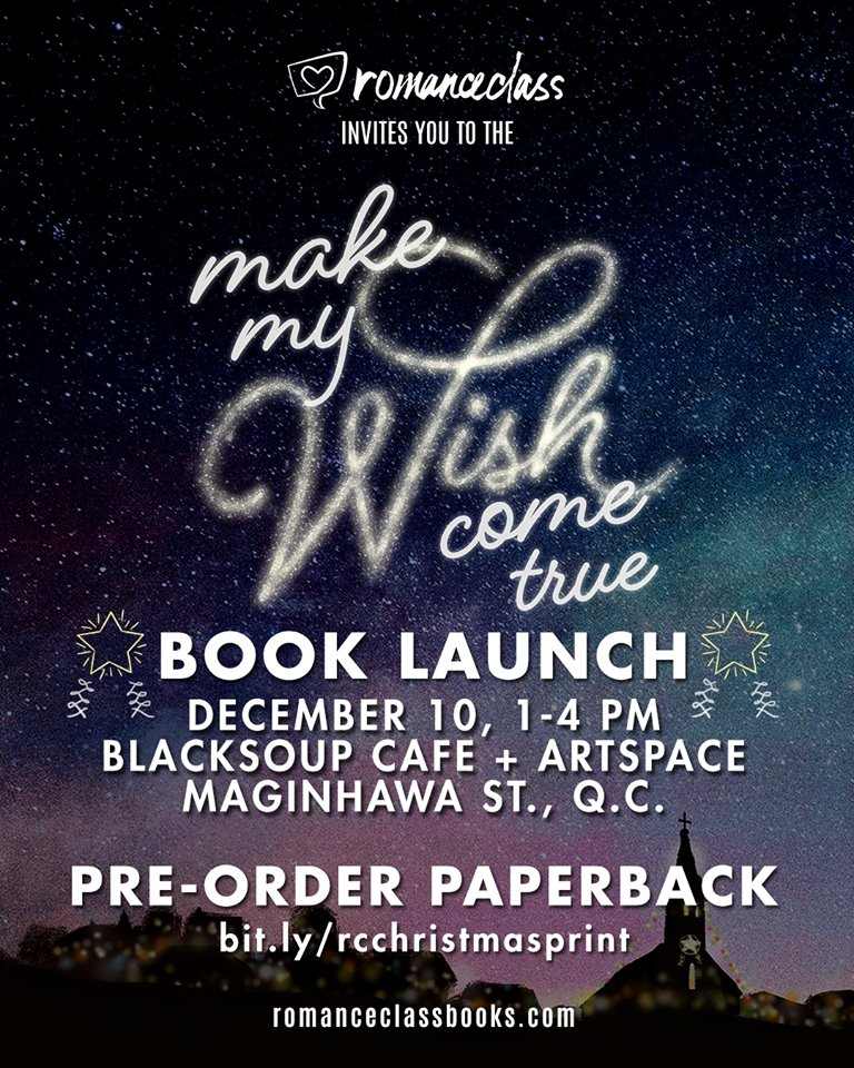Christmas book launch