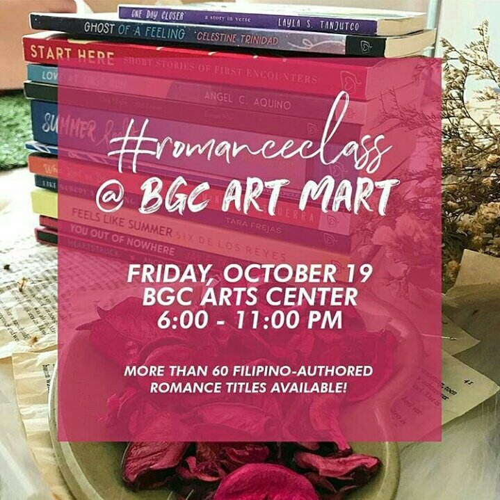 romanceclass at BGC Art Mart, 19 October 2018